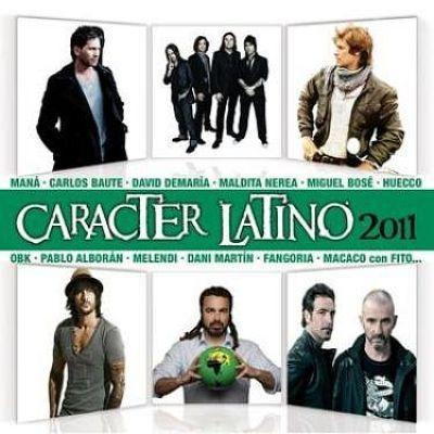 VA - Caracter Latino  (2011)