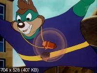 Чип и Дейл спешат на помощь / Chip and Dale rescue rangers [1-65 серии (65)][1989-1992, мультфильм, комедия, детектив, приключения, семейный, SATRip]