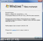 Windows 7 Ultimate SP1 v.721 ru-RU [2 образа: x86 и x64] Скачать торрент