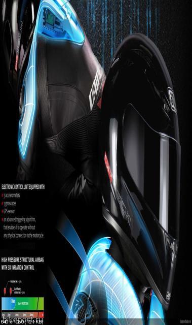 Инновационный комбинезон Dainese D-Air 2011