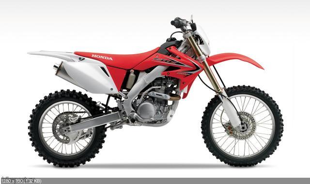Анонс эндуро Honda CRF250X и Honda CRF450X 2012