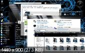 Windows Se7en Dark Blue Alienware SP1 RU ©VVP ( v.5.4.1 ) (x86) [2011,Rus]
