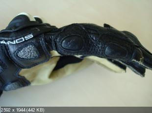 Кожаные мотоперчатки STR Urax
