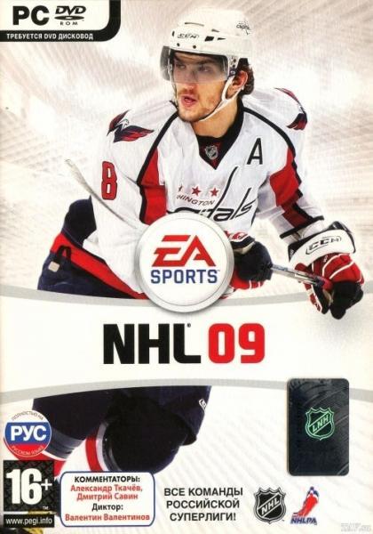 NHL 09 [L] [RUS / ENG] (2008) (СофтКлаб)