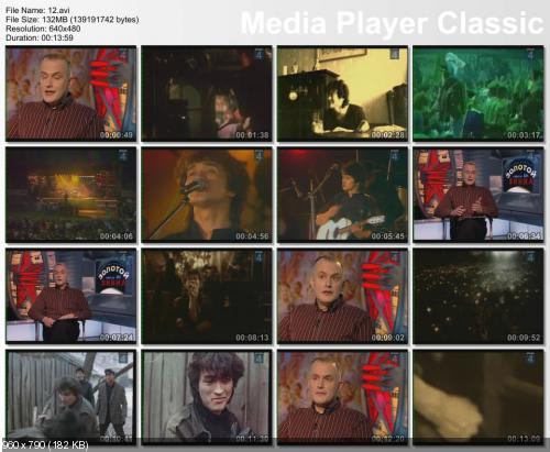 """Виктор Цой. 20 лет без """"Кино"""" (сборник телепрограмм) / DVDRip / 2005 - 2010"""