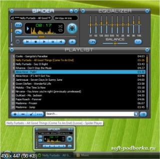 Spider Player PRO 2.4.5 (2010) PC