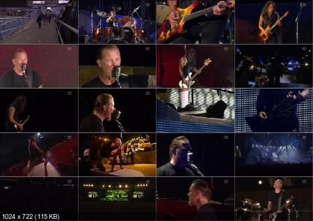 Metallica - Live in Gothenburg (Sweden) (2011) HDTVRip 720p